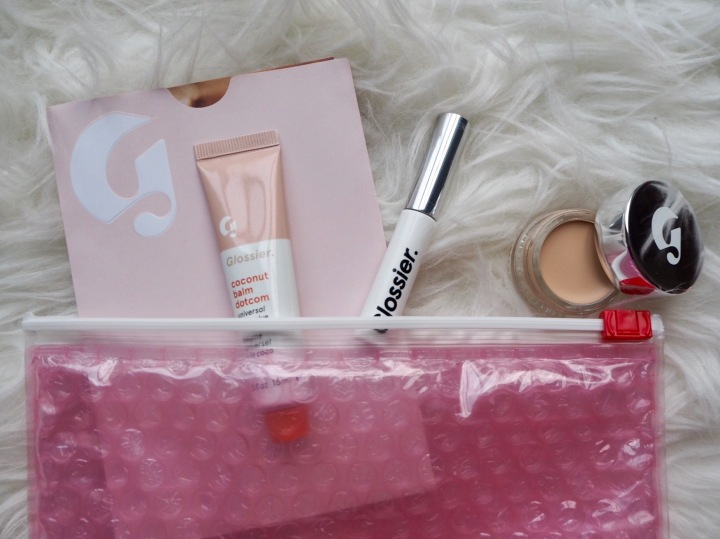 The wait is over ; GLOSSIER IS HERE