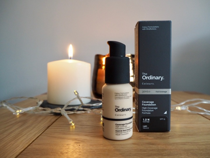 The Ordinary – Coverage Foundation