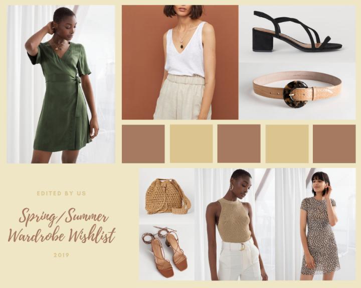 Spring/Summer wardrobe wishlist